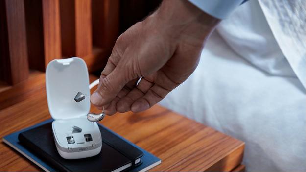 西嘉助听器X平台飘·随行系列可以充电的助听器